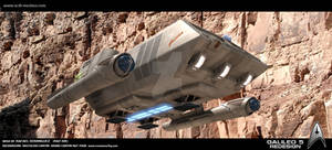 Star Trek Galileo 5 Re-design to JJ style