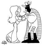 Monica Meets The Checkered Man
