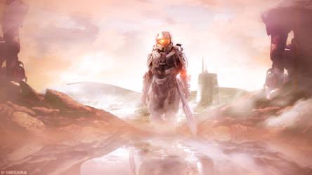 Halo 5: Guardians Wallpaper by shirosaurus