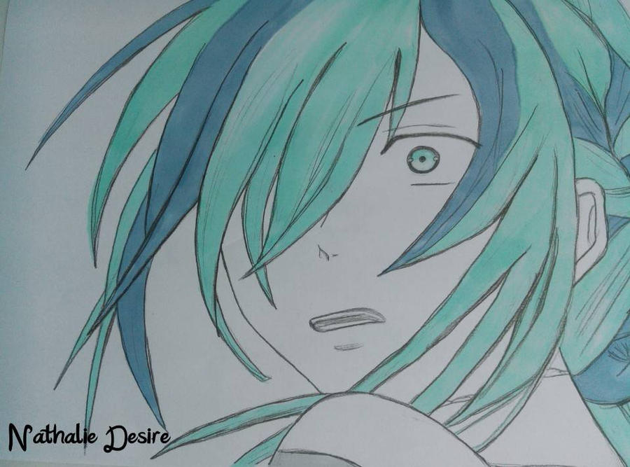 Anime girl scared by NathalieDesire on DeviantArt Frightened Face Anime
