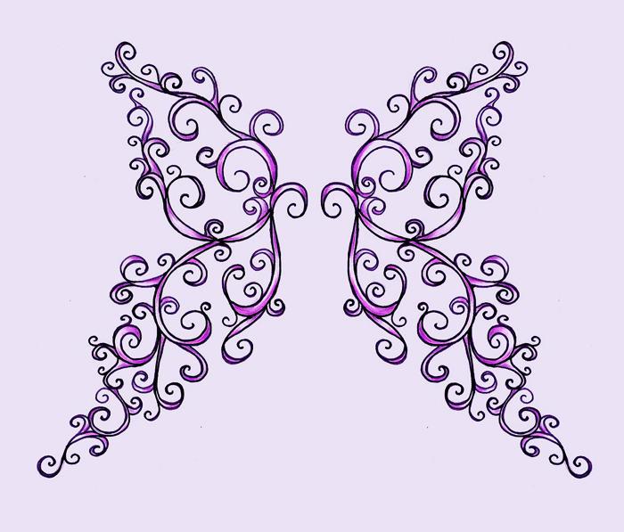 butterfly wings by kali-hypochondria