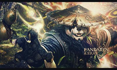 Panda Man by lc5l