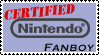 Nintendo Fanboydom Stamp by Tenn1502