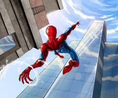Spider-Man Step 3 by Aleshka113