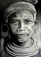 Bonda Tribe: by Arunava-Art