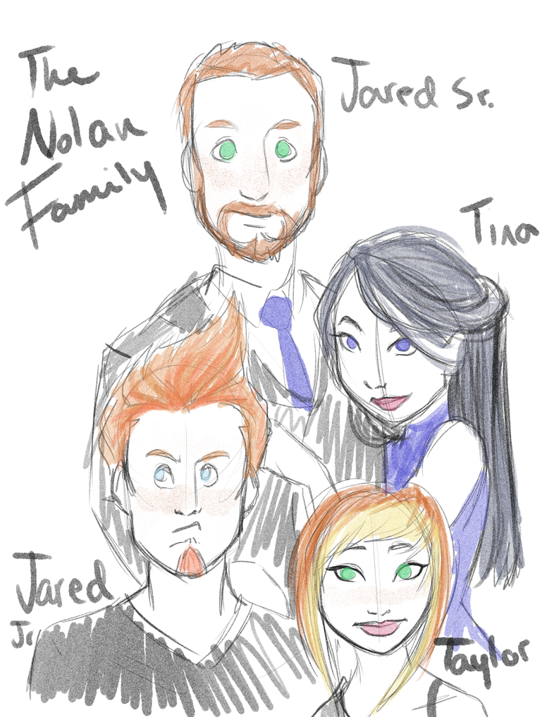 The Nolan Family by Voodookandy