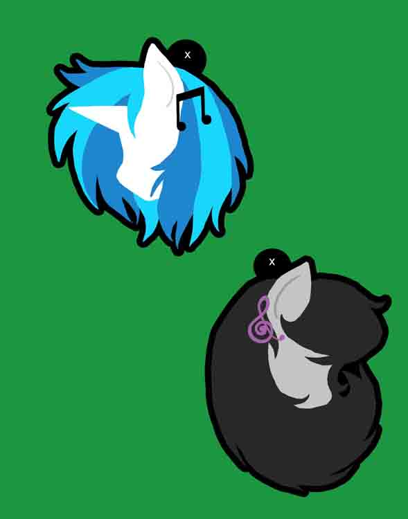 Vinyl Scratch and Octavia Charms Preview by Enuwey