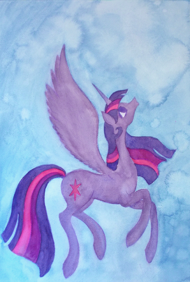 Twilight Sparkle by Enuwey