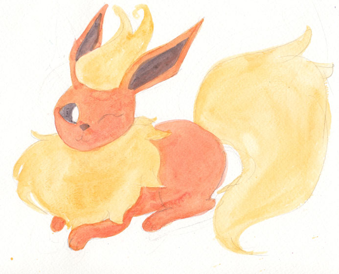 Flareon by Enuwey