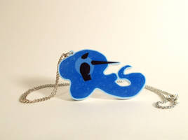 Nightmare Moon Necklace by Enuwey