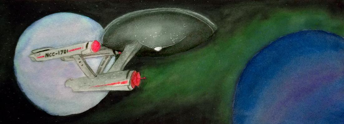 The USS Enterprize (NCC-1701) by Enuwey