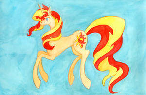 Sunset Shimmer by Enuwey