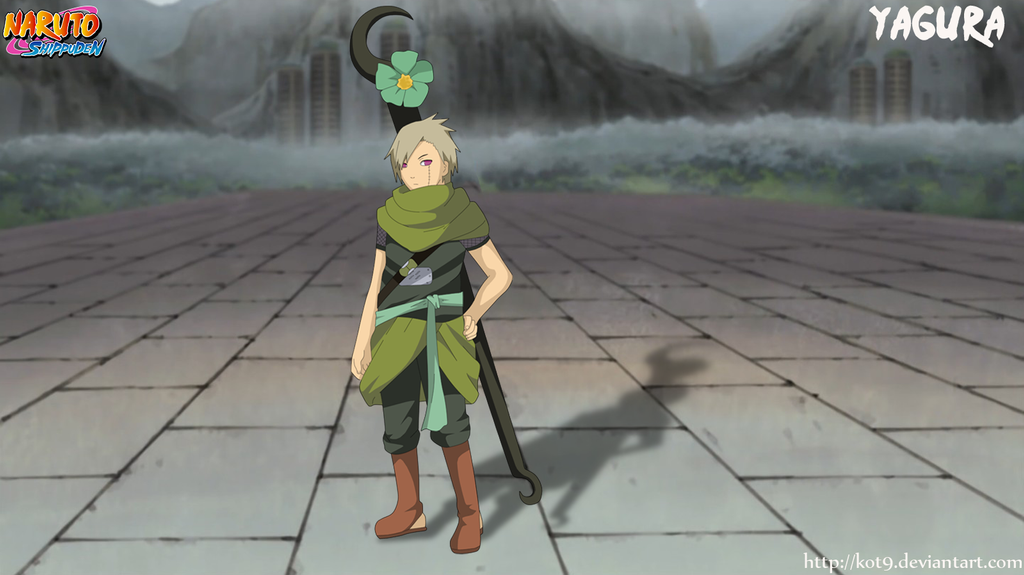Yagura 3 Mizukage by kot9 on DeviantArt