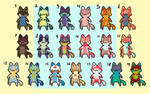 #8 LEFT 50pts/0.50$ - Leftover lil' wee kitties!