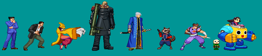 UMvC3 in CPS2 Style by RieyTails