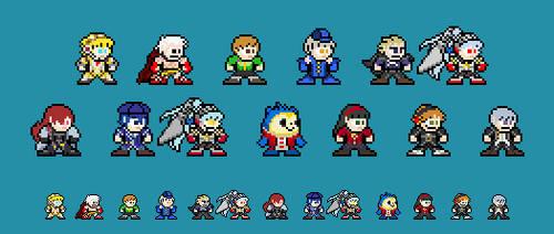 8-bit Persona 4 Arena