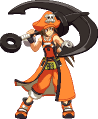 May (Guilty Gear Xrd) by RieyTails