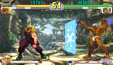 Nash in Street Fighter 3