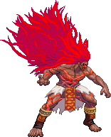 Necalli alternate form (Street Fighter V) by RieyTails