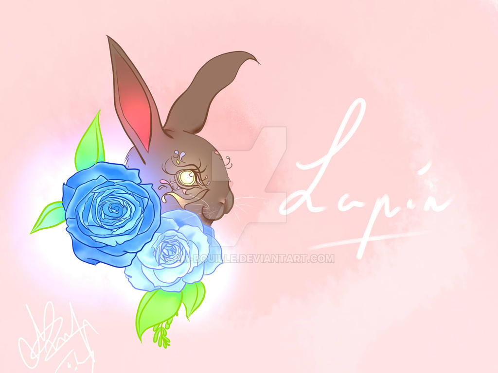 Light bunny ! by RM-Bouille