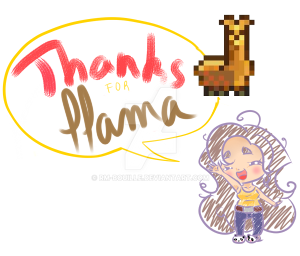 Thx for llama  by RM-Bouille