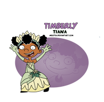 Hey Princess! - Timberly as Tiana by Meletea