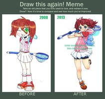 Meme - Draw this again by Viku-Asakura