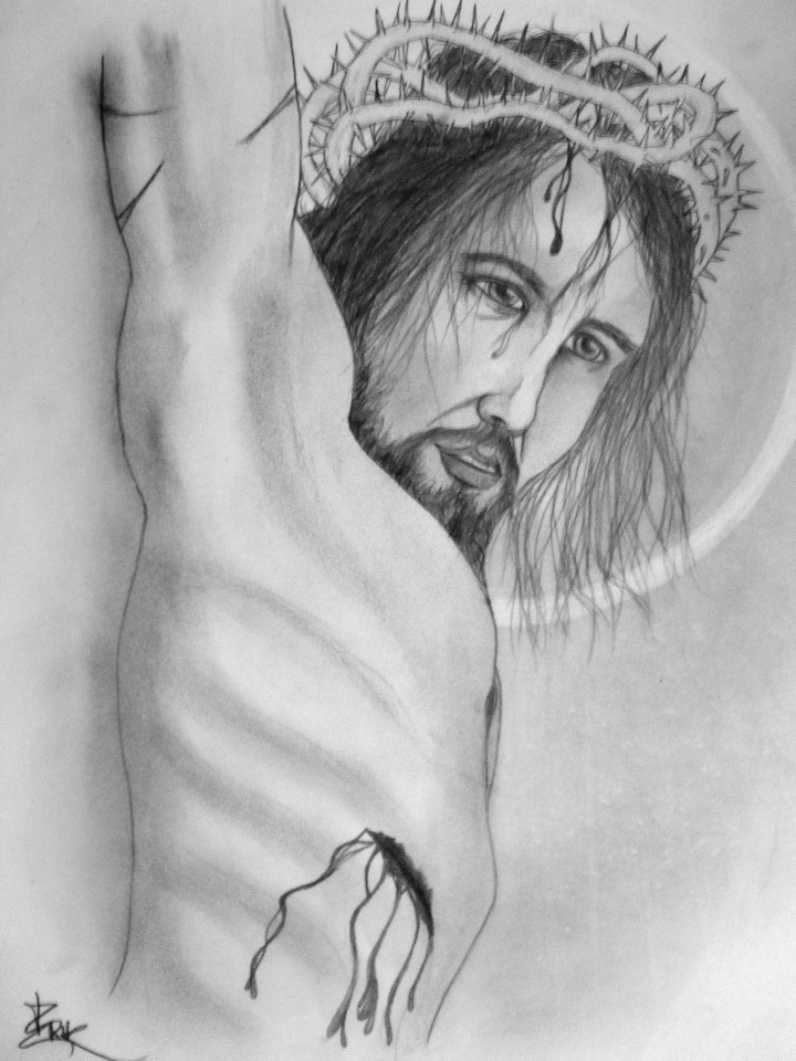 Jesus Christ Tattoo by arthurjacobs