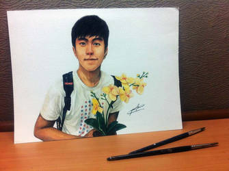 watercolour painting for a friend :) by yaokhuan