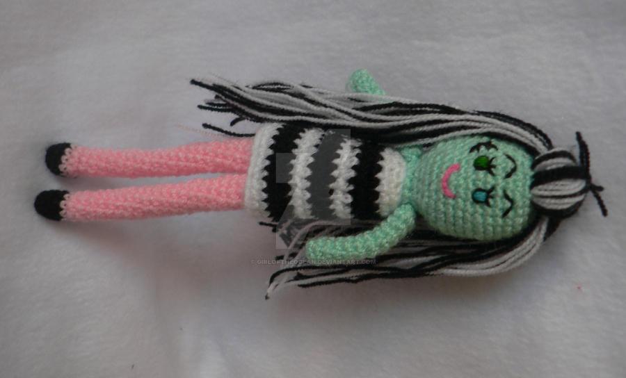 Amigurumi Monster High : amigurumi frankie stein monster high doll by ...