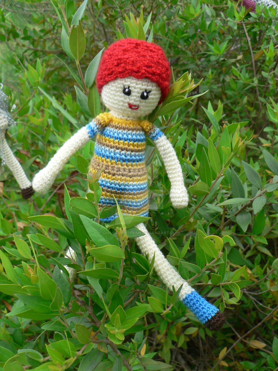 amigurumi rel hair doll by GirlOfTheOcean on DeviantArt