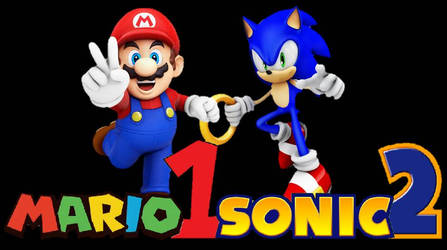 Newer Mario1Sonic2 Logo