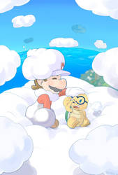 Cloud Mario by Arashi-H