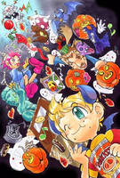 Happy Halloween in castle Osohe by Arashi-H