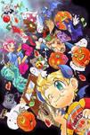 Happy Halloween in castle Osohe