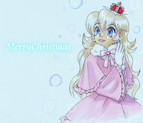 PrincessPeach which wears the coat by Arashi-H