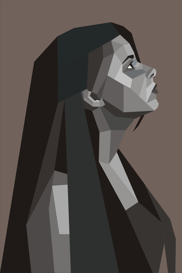 Geometric Vector Portrait By Millia91 ...