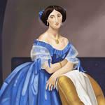 Portrait of Princess Albert de Broglie