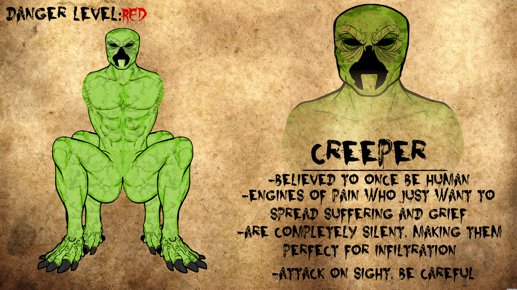 Creeper Journal Entry by Vectorman316