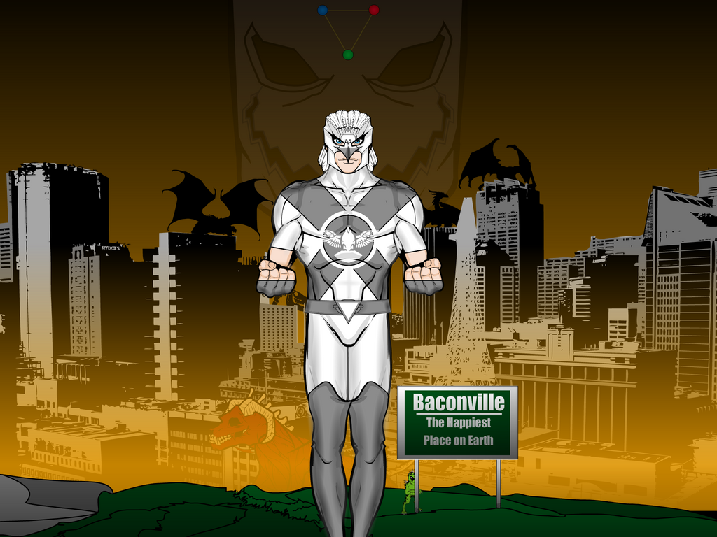 Dove Mask: The Guardian of Baconville, Ohio by Vectorman316