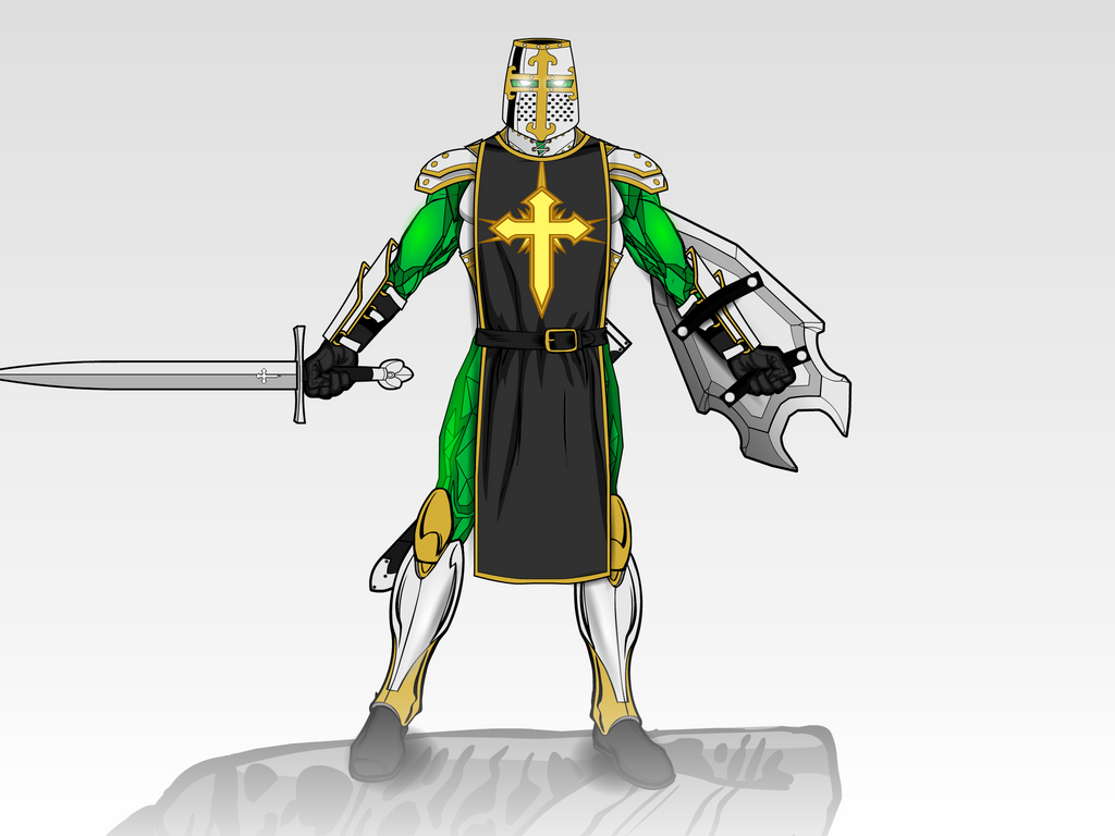 The Emerald Crusader by Vectorman316