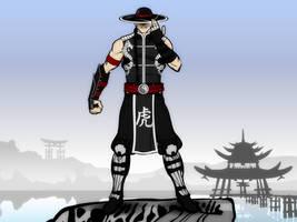 The Shaolin Warrior by Vectorman316