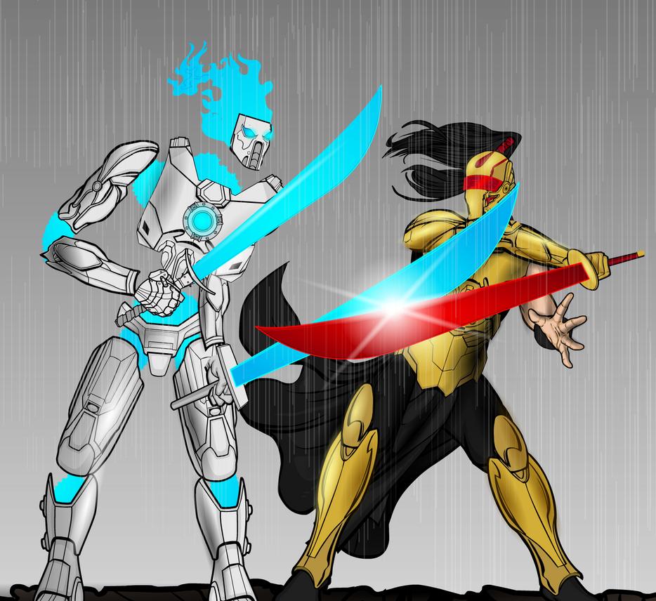Kirin VS Seishin by Vectorman316