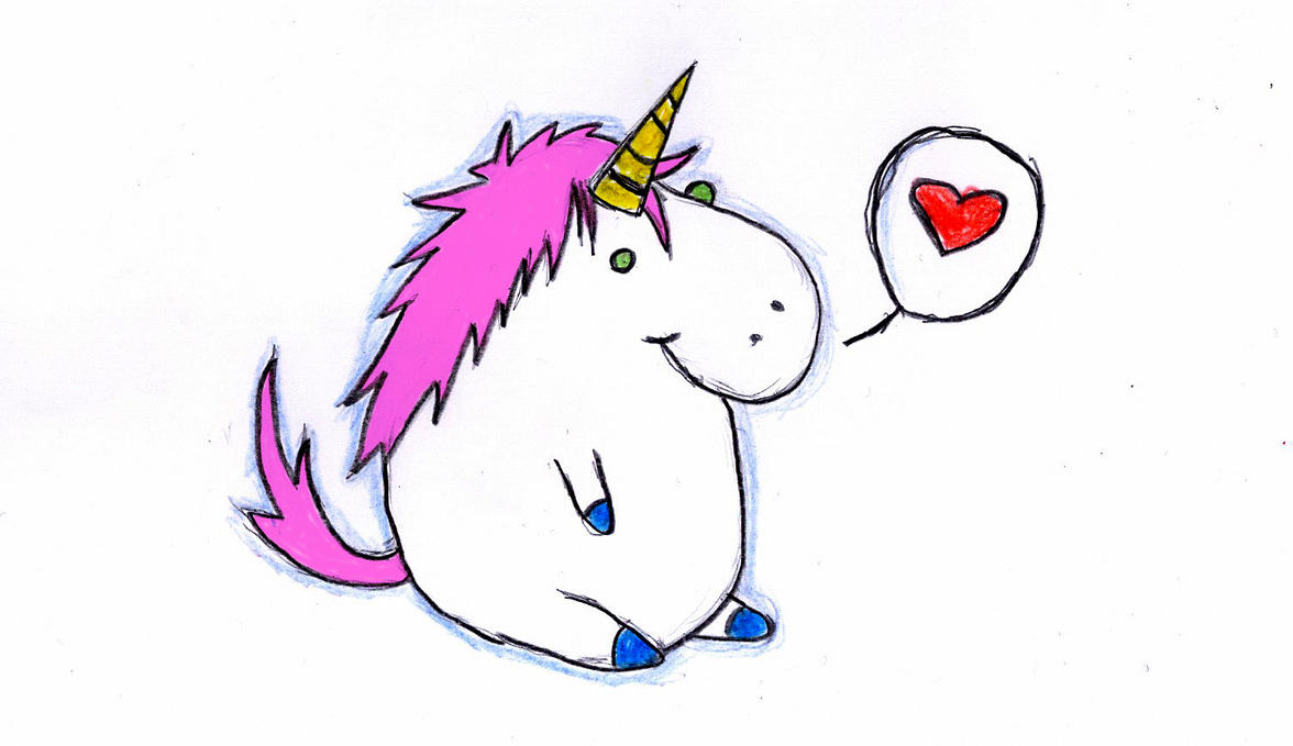 Anime unicorns drawings
