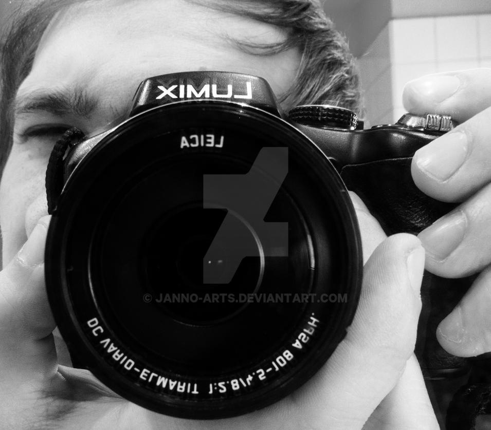 Me and my Camera Panasonic LUMIX DMC-FZ200 by janno-arts