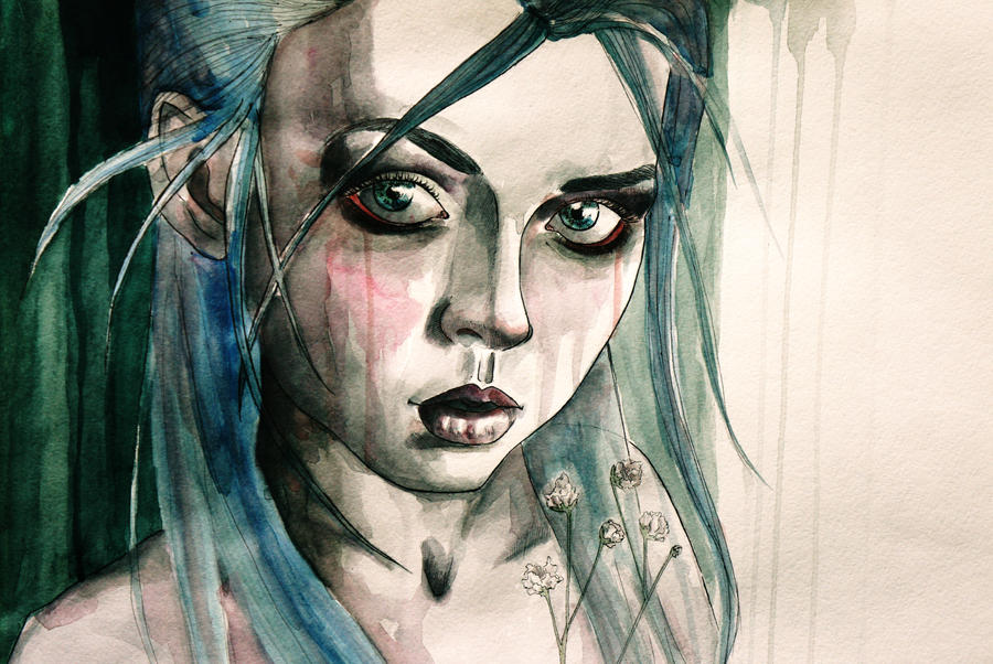 watercolour by ArishaP