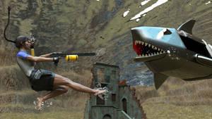 Lara's diving trip 02