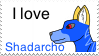 I love Shadarcho Stamp by crisisangelwolf