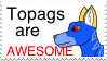 Topags Stamp by crisisangelwolf