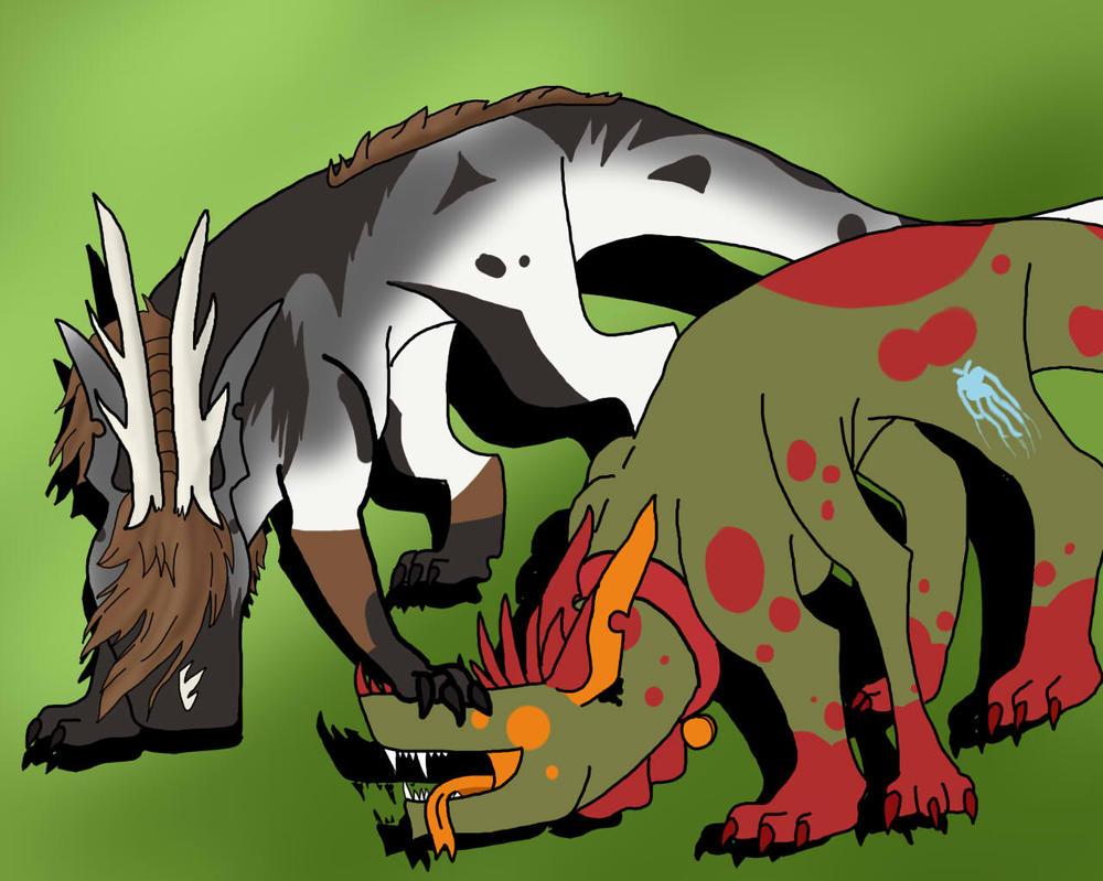 Gnaw, Shagga Says Down by crisisangelwolf